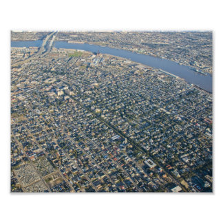 Aerial New Orleans Garden District Photograph