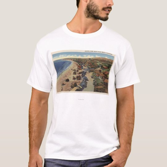 Aerial of Crystal Cove T-Shirt