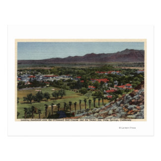 Aerial of O'Donnell Golf Course Postcard