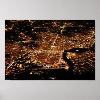 Aerial Philadelphia 8x12 Poster