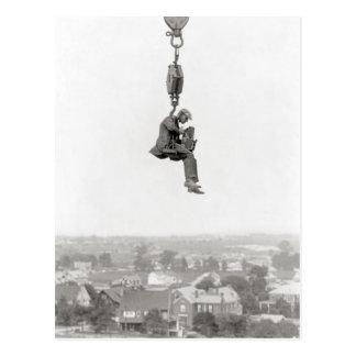 Aerial Photographer, 1925 Postcard