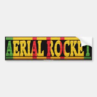 Aerial Rocket Vietnam Service Ribbon Sticker