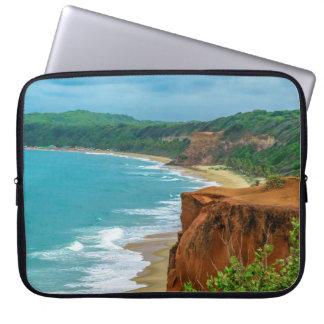Aerial Seascape Scene Pipa Brazil Computer Sleeves