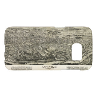Aerial View of Asheville, North Carolina (1912) Samsung Galaxy S7 Case