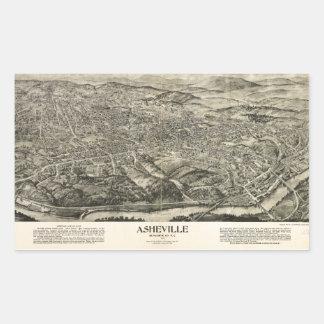 Aerial View of Asheville, North Carolina (1912) Sticker