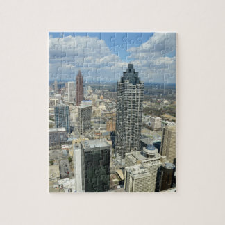 Aerial View of Atlanta, Georgia Jigsaw Puzzle