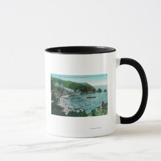 Aerial View of Avalon and Bay Mug