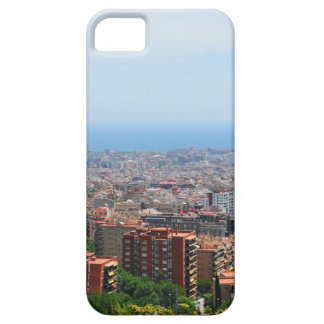Aerial view of Barcelona, Spain iPhone 5 Cases