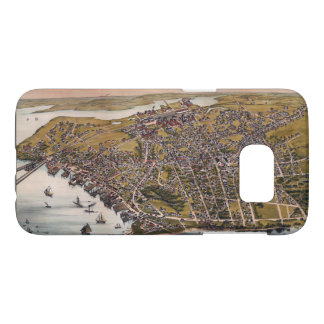 Aerial View of Beverly, Massachusetts (1886) Samsung Galaxy S7 Case