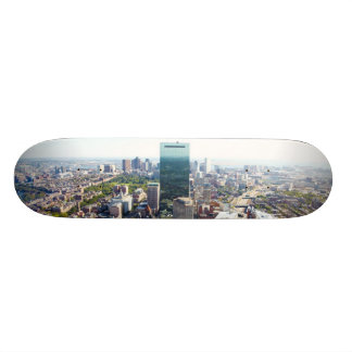 Aerial view of Boston 2 Skateboard Deck