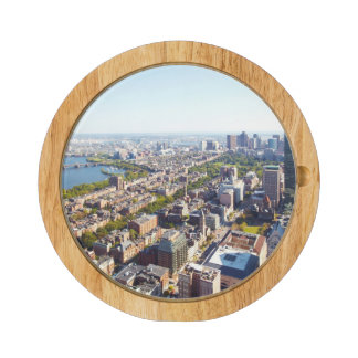 Aerial view of Boston Rectangular Cheeseboard