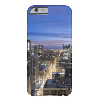 Aerial view of buildings along State Street in Barely There iPhone 6 Case