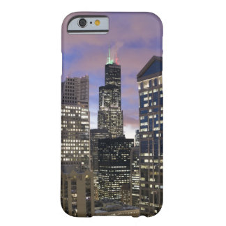 Aerial view of buildings in the Chicago Loop, Barely There iPhone 6 Case