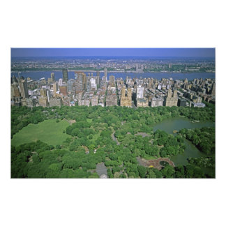 Aerial view of Central Park and the west side Photograph