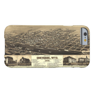 Aerial View of Cheyenne, Wyoming (1882) Barely There iPhone 6 Case