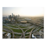 Aerial view of downtown Dallas, Texas Postcards