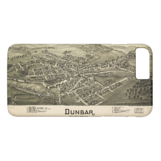Aerial View of Dunbar, Pennsylvania (1900) iPhone 8 Plus/7 Plus Case