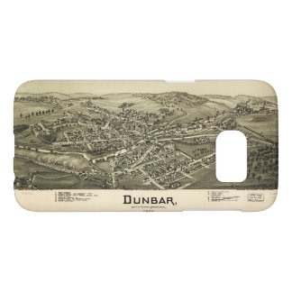 Aerial View of Dunbar, Pennsylvania (1900) Samsung Galaxy S7 Case