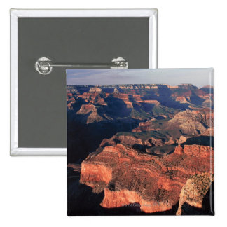 Aerial view of Grand Canyon National Park , 2 Inch Square Button
