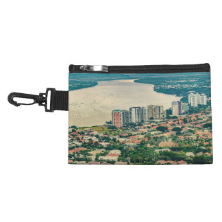 Aerial View of Guayaquil Outskirt from Plane Accessory Bag