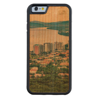 Aerial View of Guayaquil Outskirt from Plane Carved Cherry iPhone 6 Bumper Case