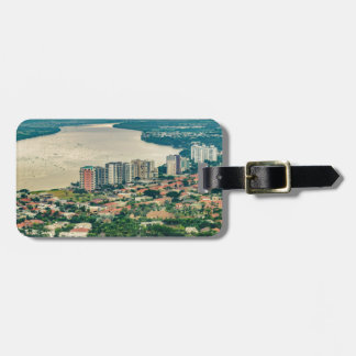 Aerial View of Guayaquil Outskirt from Plane Luggage Tag