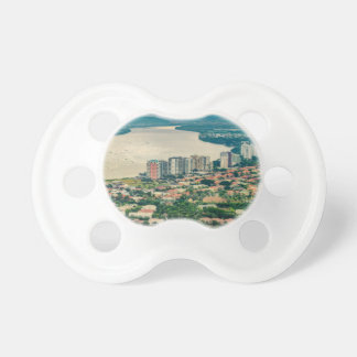 Aerial View of Guayaquil Outskirt from Plane Pacifier
