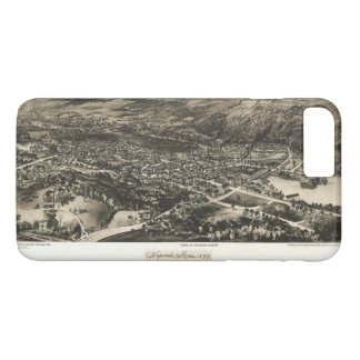 Aerial View of Hopedale, Massachusetts (1899) iPhone 8 Plus/7 Plus Case
