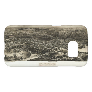 Aerial View of Hopedale, Massachusetts (1899) Samsung Galaxy S7 Case