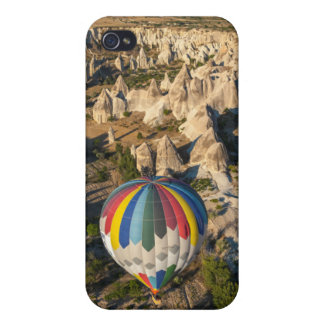 Aerial View Of Hot Air Balloons, Cappadocia Covers For iPhone 4