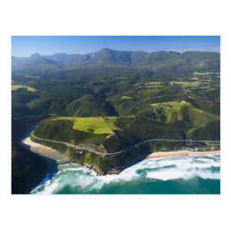 Aerial View Of Keurbooms River, Garden Route Postcard