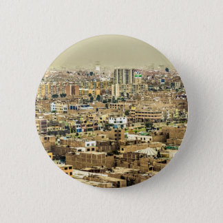 Aerial View of Lima Outskirts, Peru 2 Inch Round Button