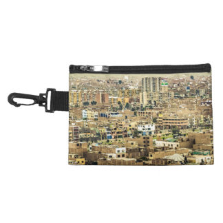 Aerial View of Lima Outskirts, Peru Accessory Bags