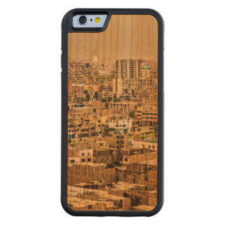 Aerial View of Lima Outskirts, Peru Carved Cherry iPhone 6 Bumper Case