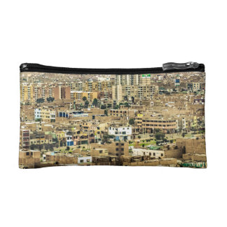 Aerial View of Lima Outskirts, Peru Cosmetics Bags