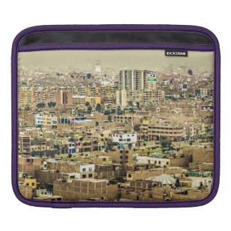 Aerial View of Lima Outskirts, Peru iPad Sleeve