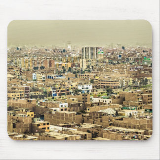 Aerial View of Lima Outskirts, Peru Mouse Pad