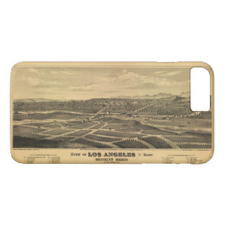 Aerial View of Los Angeles, California (1877) iPhone 8 Plus/7 Plus Case