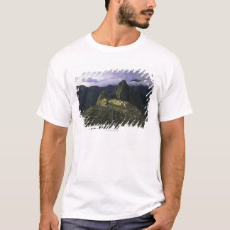 Aerial view of Machu Picchu, Peru T-Shirt