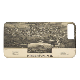 Aerial View of Millerton, New York (1887) iPhone 8 Plus/7 Plus Case