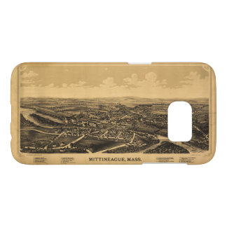 Aerial View of Mittineague, Massachusetts (1889) Samsung Galaxy S7 Case
