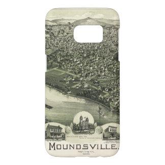 Aerial View of Moundsville, West Virginia (1899) Samsung Galaxy S7 Case