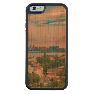 Aerial View of Olinda and Recife Pernambuco Brazil Carved Cherry iPhone 6 Bumper Case
