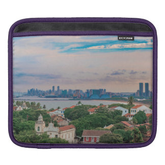 Aerial View of Olinda and Recife Pernambuco Brazil iPad Sleeve