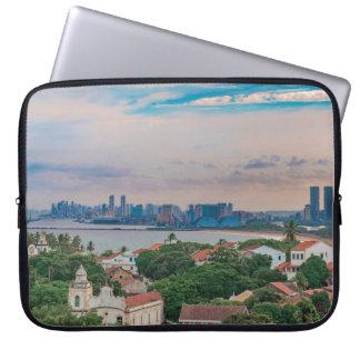Aerial View of Olinda and Recife Pernambuco Brazil Laptop Sleeve