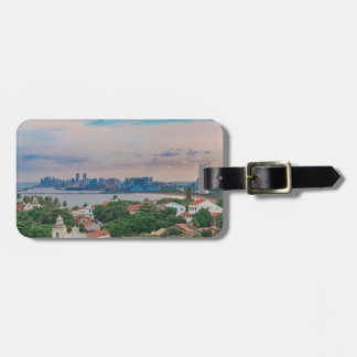 Aerial View of Olinda and Recife Pernambuco Brazil Luggage Tag