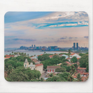 Aerial View of Olinda and Recife Pernambuco Brazil Mouse Pad