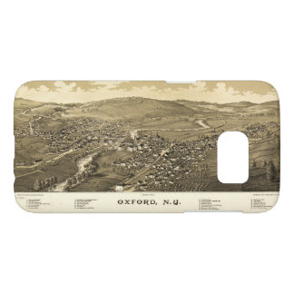 Aerial View of Oxford, New York (1888) Samsung Galaxy S7 Case