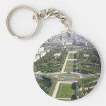 Aerial View of Paris Key Chains