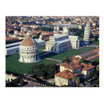 Aerial view of Pisa, Italy Postcards